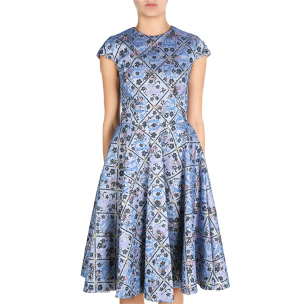 Mary Katrantzou J1 Babelonia Printed Dress M