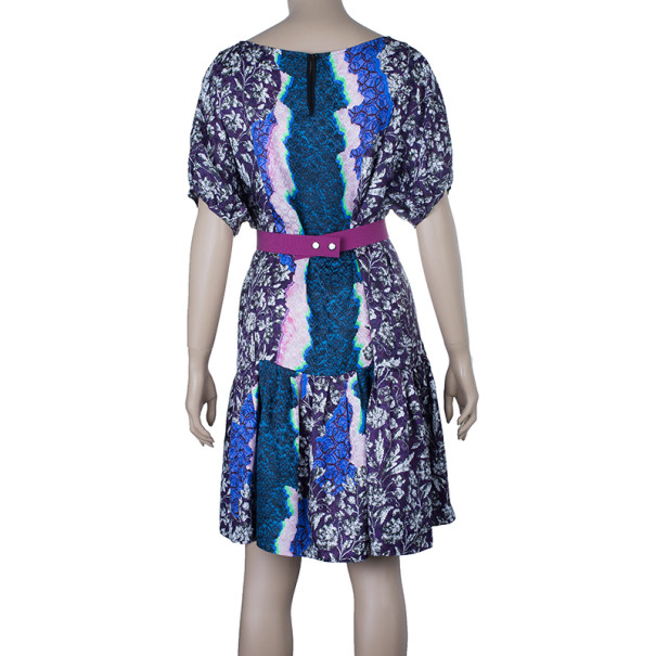 Peter Pilotto Roamer Printed Mini-Dress M