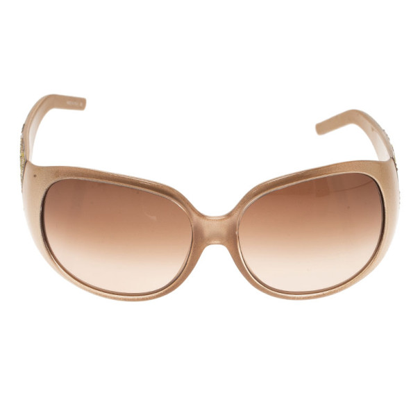 Fendi Brown FS440 Limited Edition Embellished Sunglasses