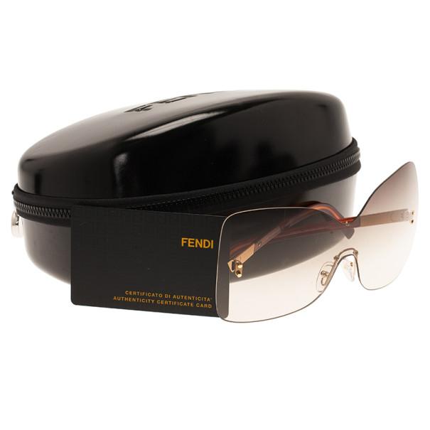 Fendi Brown FS5273 Oversize Square Limited Edition Sunglasses