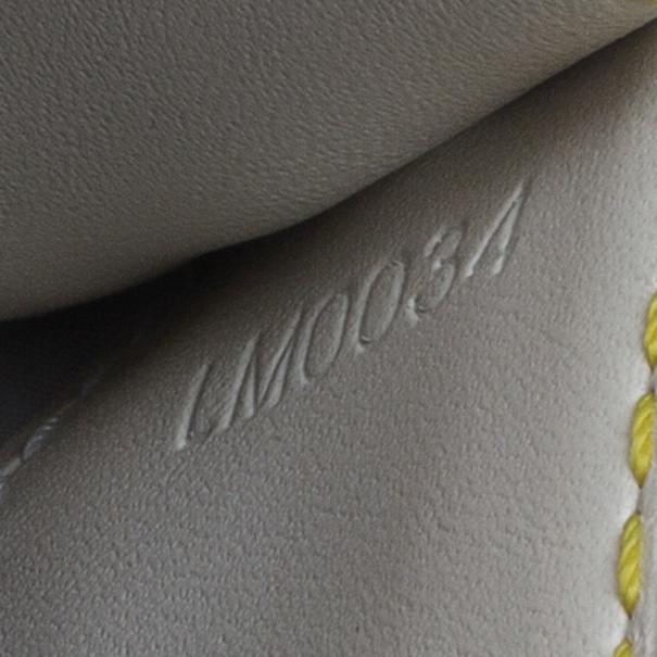 Louis Vuitton White Suhali Leather L'Aimable Shoulder Bag