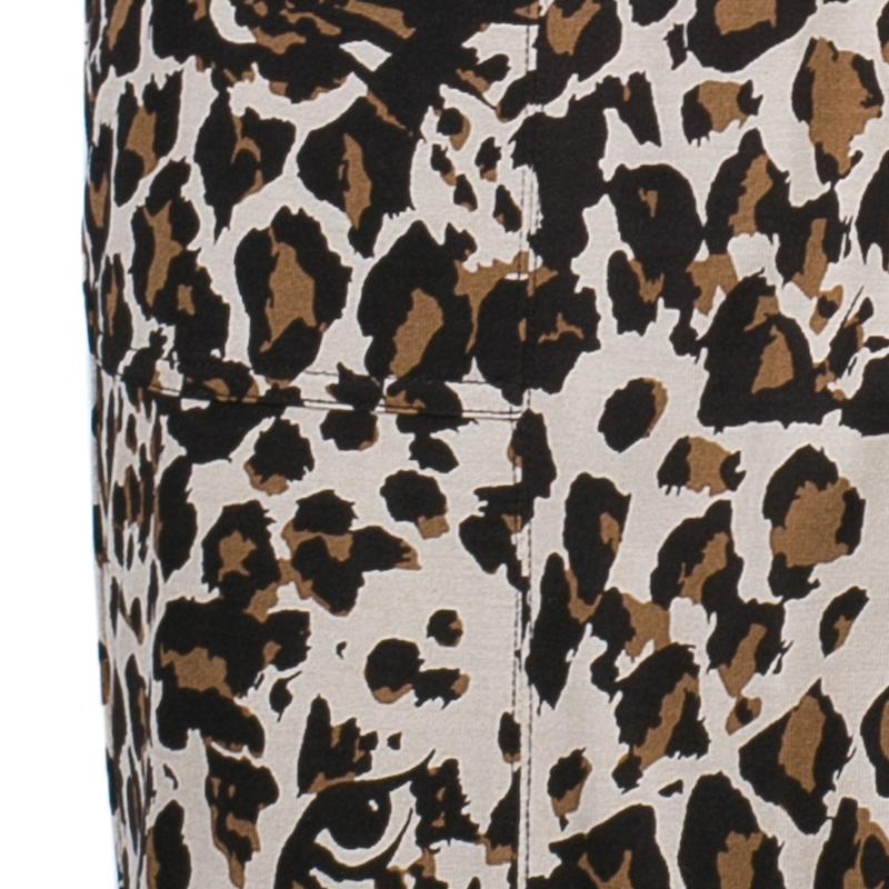 Diane von Furstenberg Leopard Print Anoush Dress S