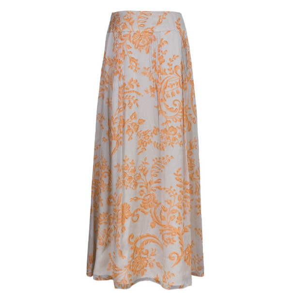 Valentino Abstract Print Skirt Set L