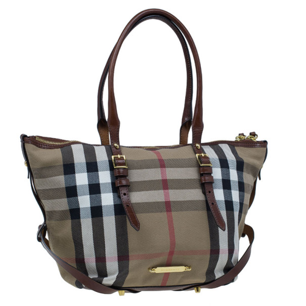 Burberry House Check Salisbury Tote