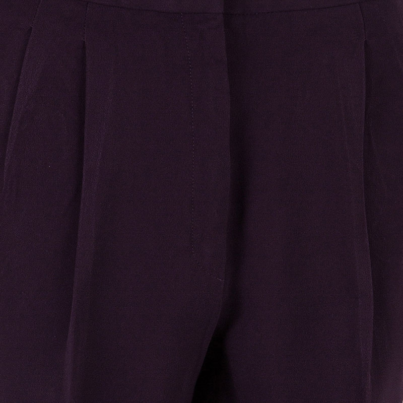 Dior Burgundy Formal Trousers M