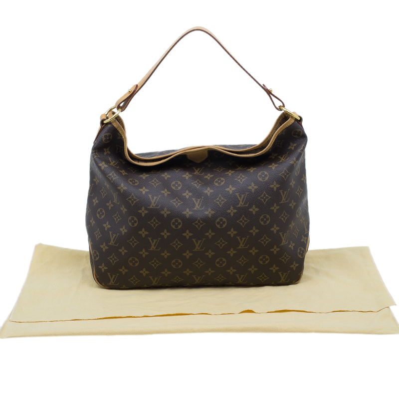 Louis Vuitton Monogram Coated Canvas Delightful Hobo MM