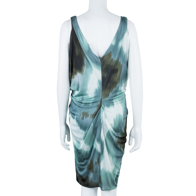 Diane von Furstenberg Multicolor Sleeveless Dress M