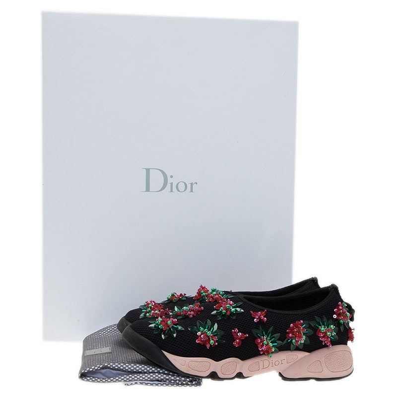 Dior Two Tone Fusion Sneakers Size 36