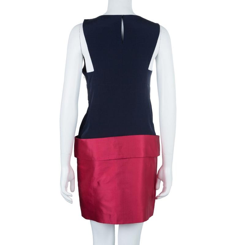 Marc by Marc Jacobs Color Block Shift Dress S