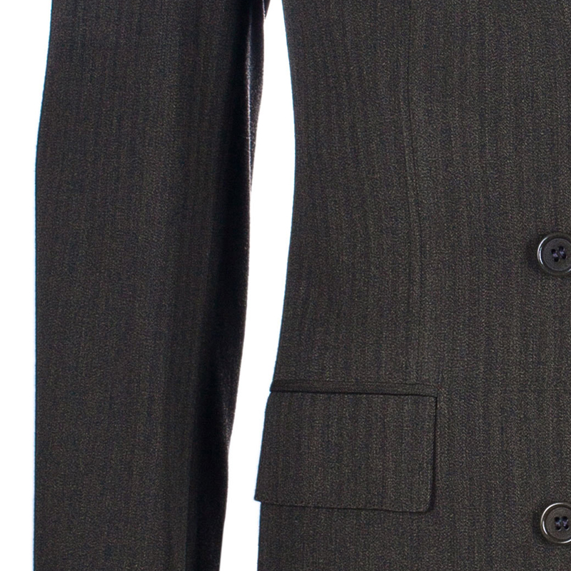 Brioni Men's Green Wool Suit M