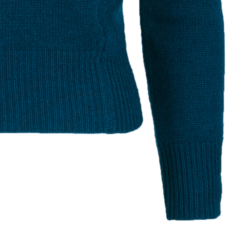 Burberry London Blue Cashmere Sweater XS
