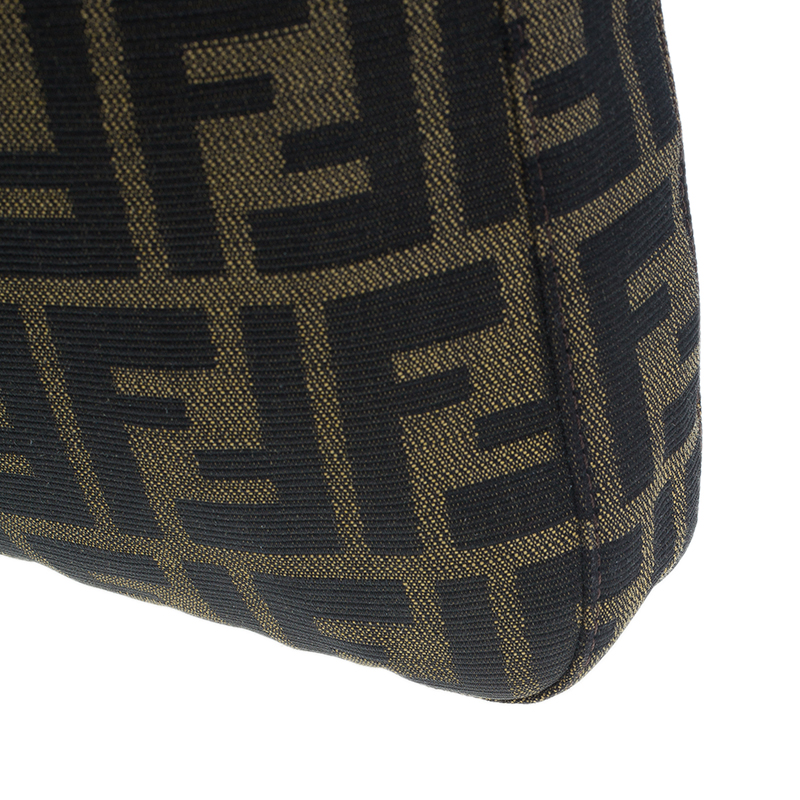 Fendi Brown Zucca Canvas Hobo bag