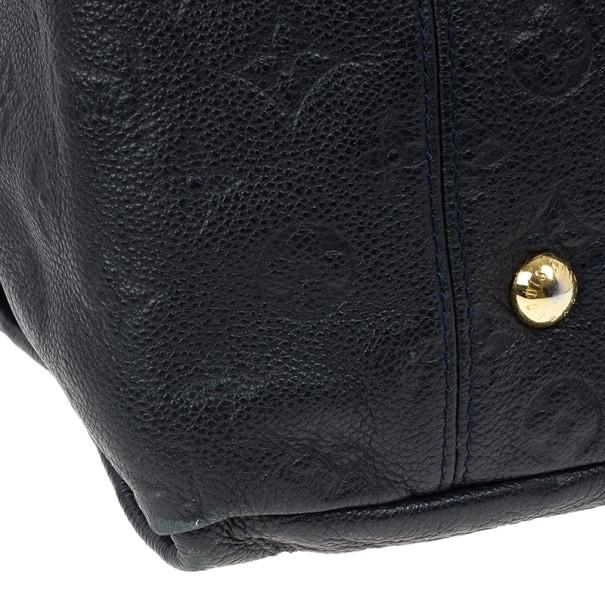 Louis Vuitton Black Empreinte Artsy Hobo MM