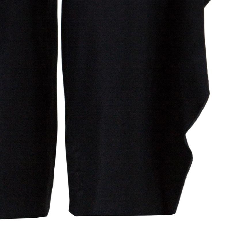 Stella McCartney Black Silk Trouser S