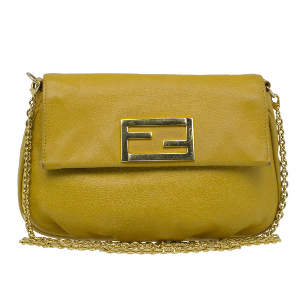 f8fc8bad594f ... new zealand fendi yellow leather fendista pochette crossbody. nextprev.  prevnext aae9e 11367 ...