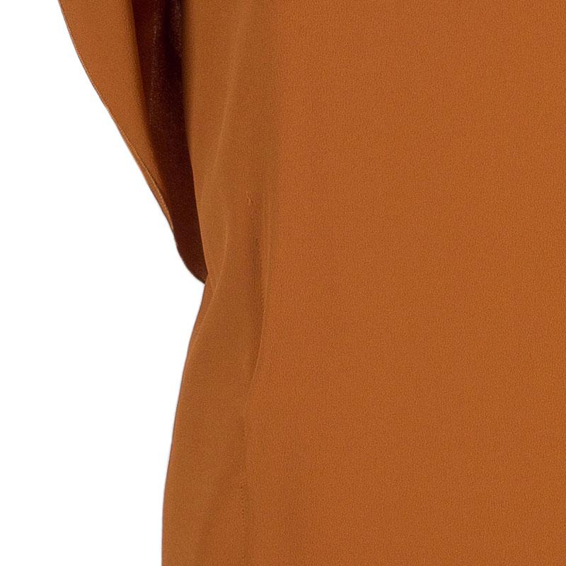 Philosophy di Alberta Ferretti Orange Asymmetric Top M