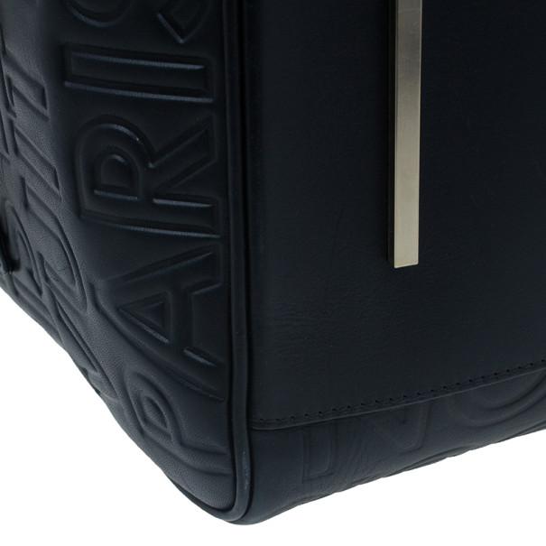 Louis Vuitton Black Monogram Damier Speedy Cube Bag