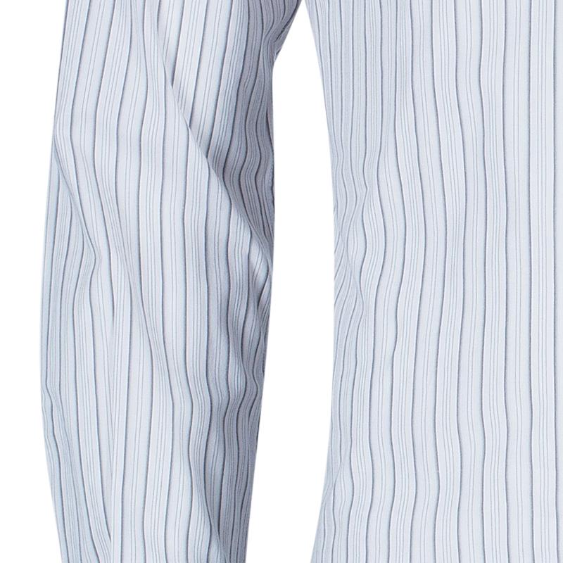 Dolce and Gabbana Men's Striped Button Down Shirt S