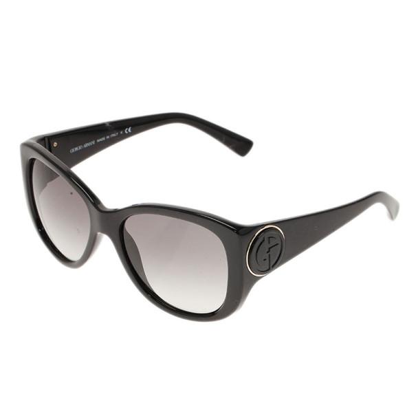 Giorgio Armani Black Cat Eye Sunglasses