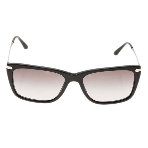 Giorgio Armani Black Rectangle Sunglasses