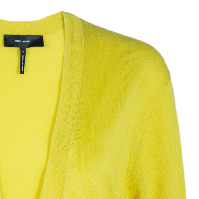 Isabel Marant Yellow Cardigan M