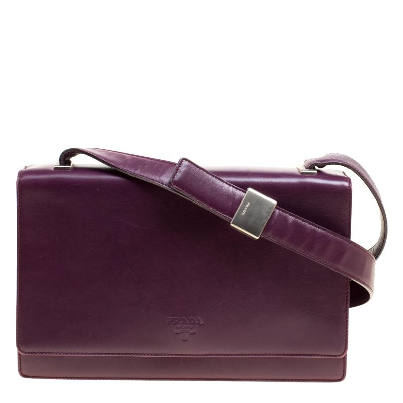 ... switzerland prada purple leather flap shoulder bag. nextprev. prevnext  c73f7 f316c cffe5eda700ad