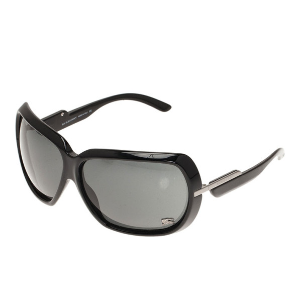 Burberry Black Oversized Square Sunglasses