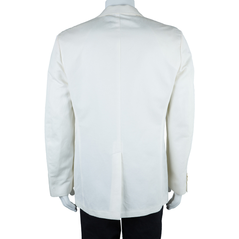 Burberry London Men's White Blazer L