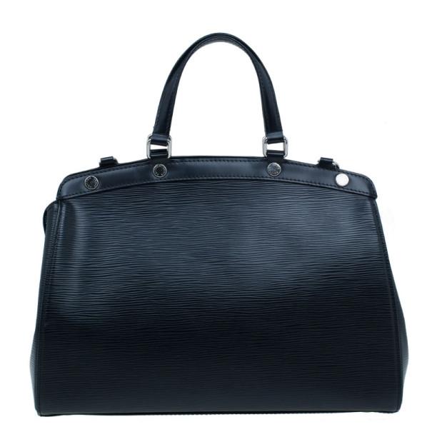 Louis Vuitton Black Epi Leather Brea GM