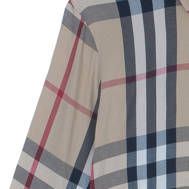 Burberry Brit Novacheck Cotton Shirt S