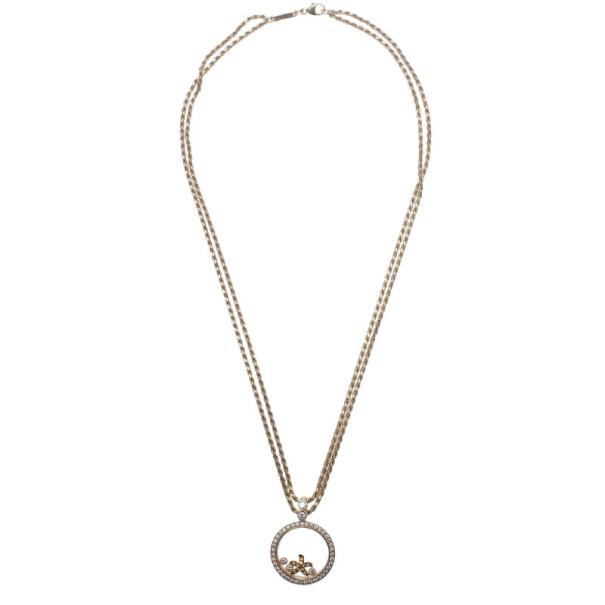 Chopard Happy Diamonds Starfish 18K Yellow Gold Pendant Necklace