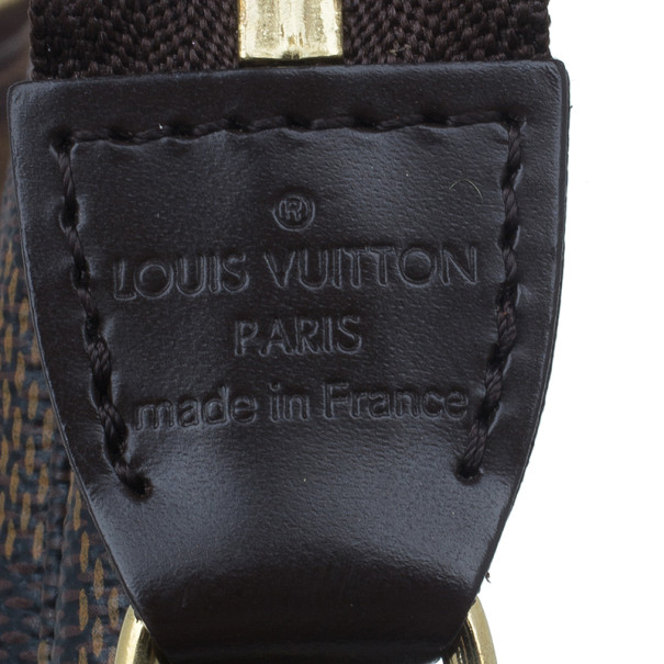 Louis Vuitton Damier Ebene Canvas Pochette Mini