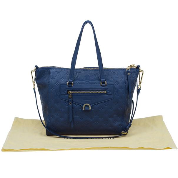 Louis Vuitton Blue Monogram Leather Empreinte Lumineuse PM