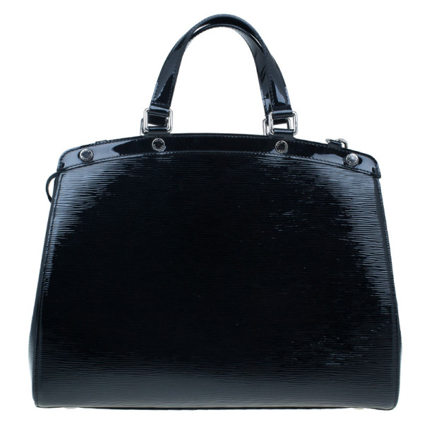 Louis Vuitton Black Epi Leather Brea GM