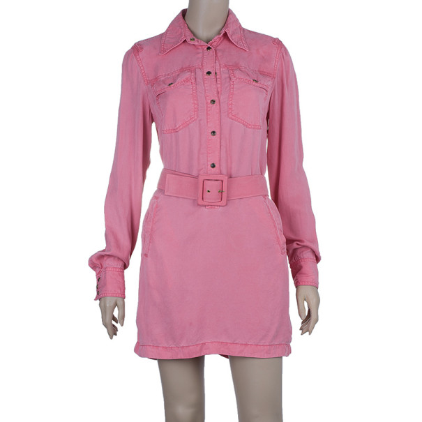 Gucci Belted Shirt Dress S