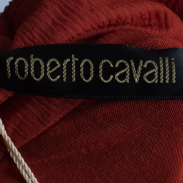 Roberto Cavalli Floral Skirt Set S