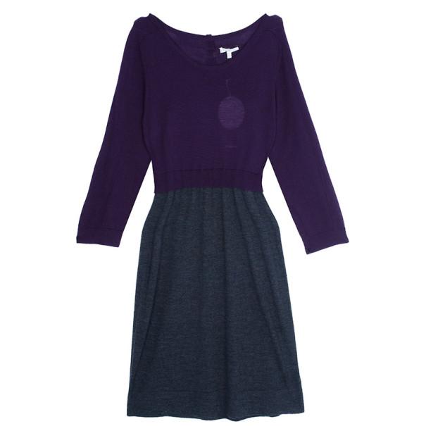 Paule Ka Colorblock Knit Dress L