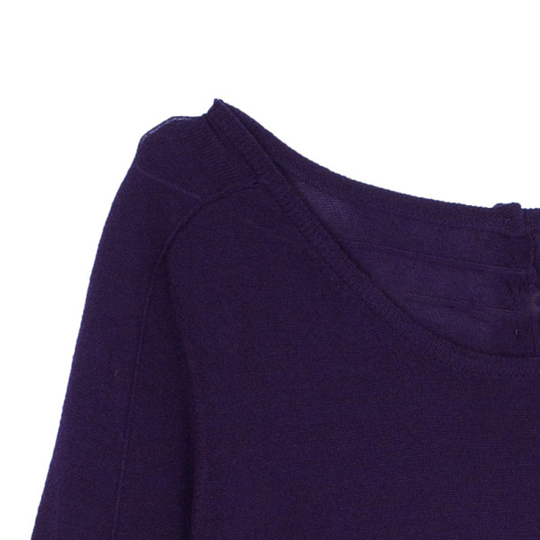 Paule Ka Colorblock Knit Dress L