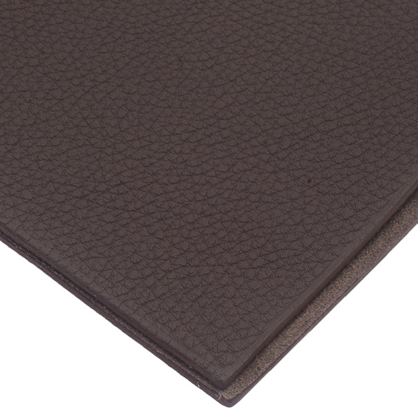 Hermes Grey Leather Agenda Cover