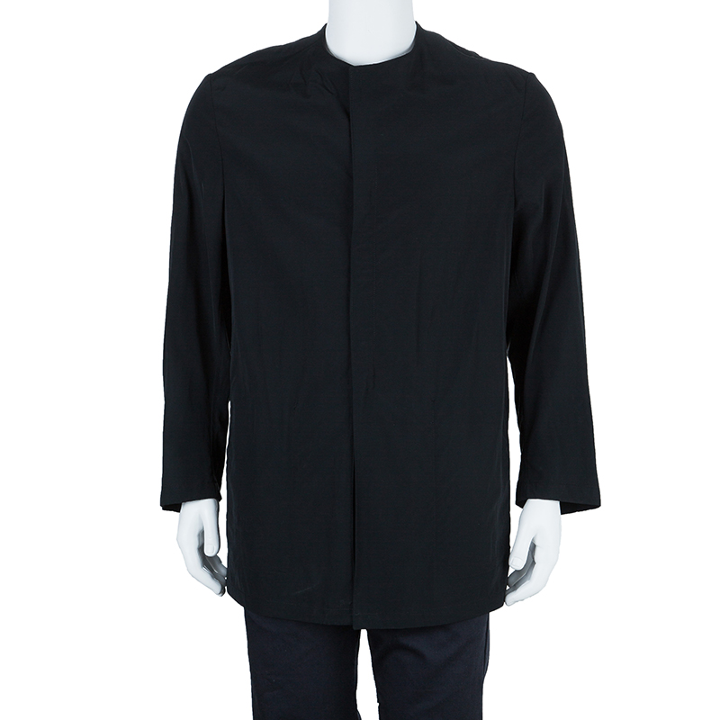 Giorgio Armani Black Technical Jacket L