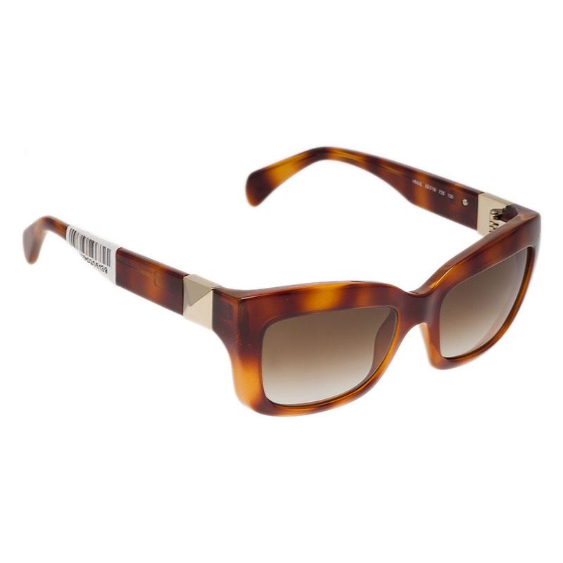 Valentino Tortoise Frame V692S Superstud Cat Eye Sunglasses
