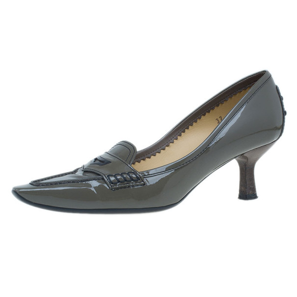 discount classic cheap sale brand new unisex Tod's Patent Leather Pointed-Toe Pumps authentic sale online HO84Lb8K9e