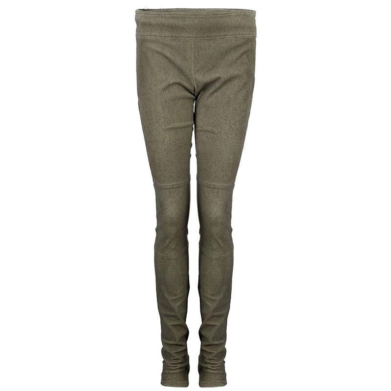 Diane Von Furstenberg Gretel Weathered Leather Pants S