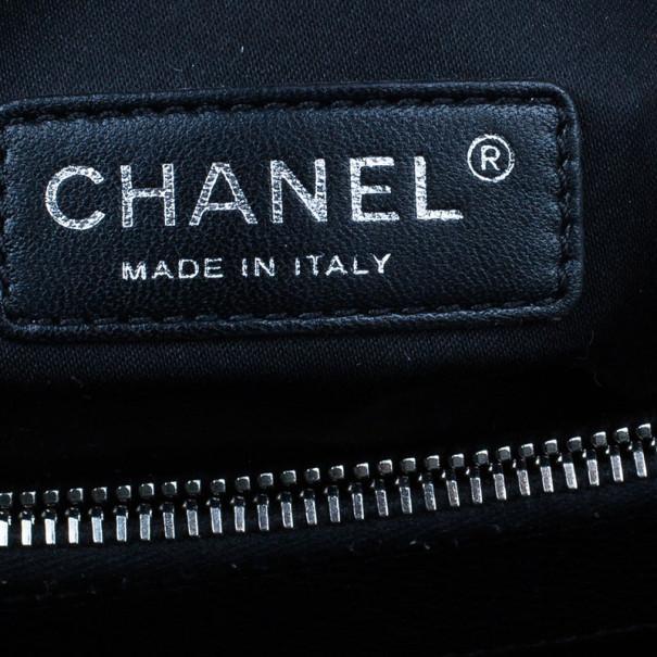 Chanel Black Grand Caviar Shopping Tote