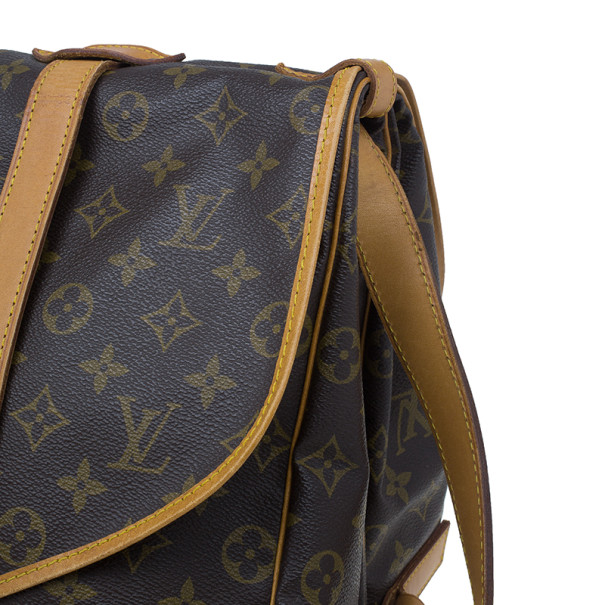 Louis Vuitton Monogram Canvas Saumur 43