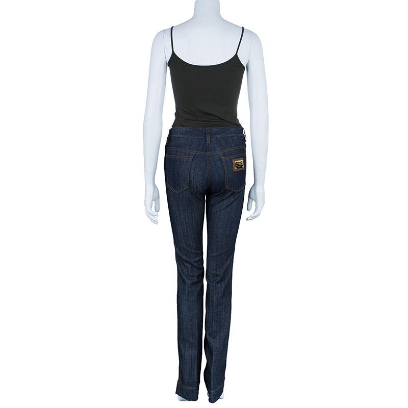 Dolce and Gabbana Indigo Boot Cut Denim Jeans S