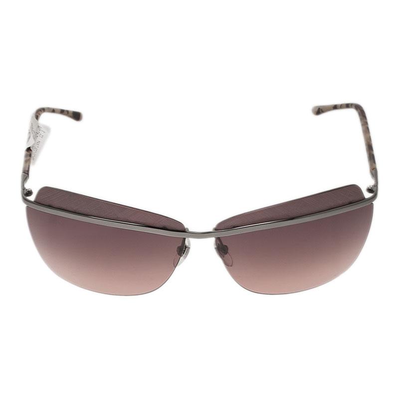 Saint Laurent Paris Silver 6361 Rimless Sunglasses
