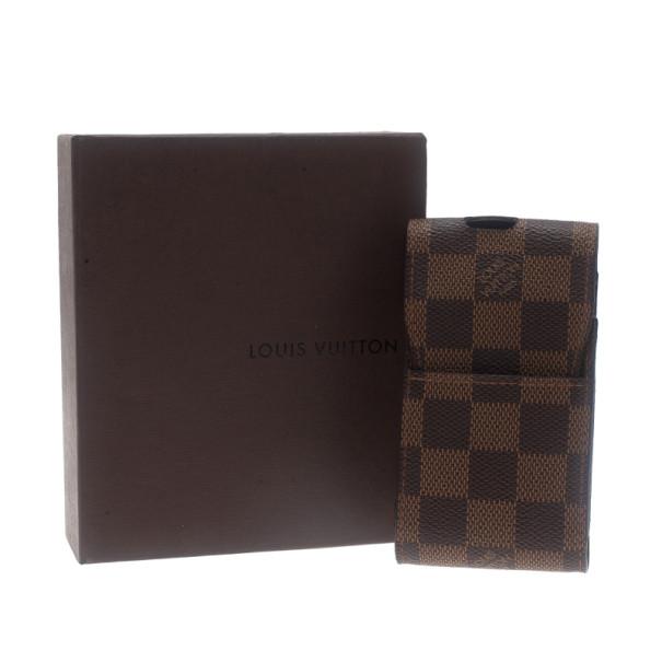 Louis Vuitton Damier Ebene Canvas Cigarette Case