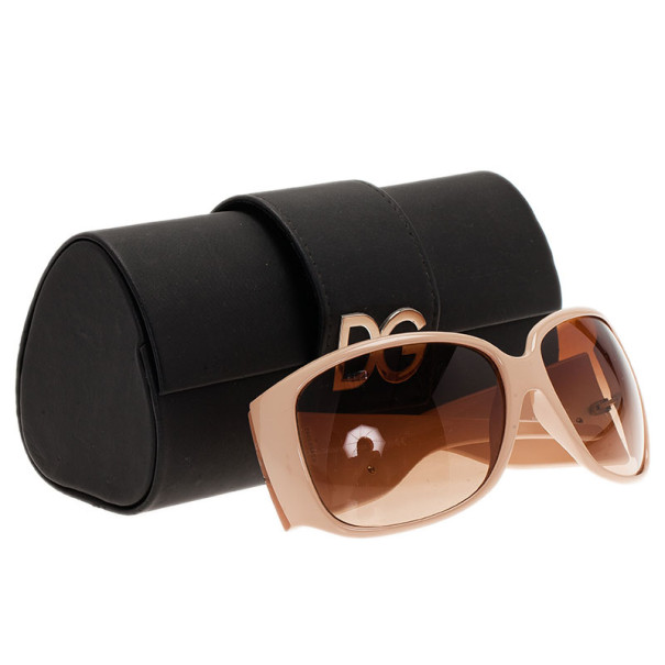 Dolce and Gabbana Cream Sunglasses