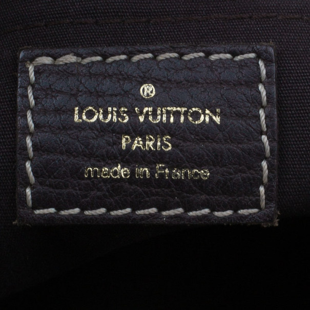 Louis Vuitton Ebony Mini Lin Manon MM